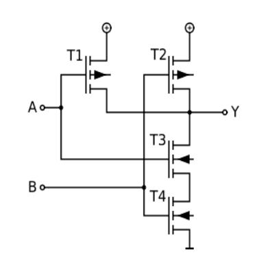 4输入与非门如何实现8输入与非功能?