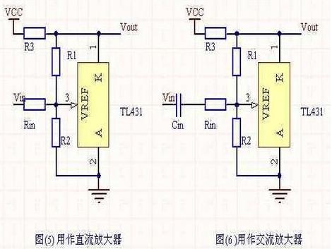 tl431可调电源电路图分析 tl431几种不常见的接法