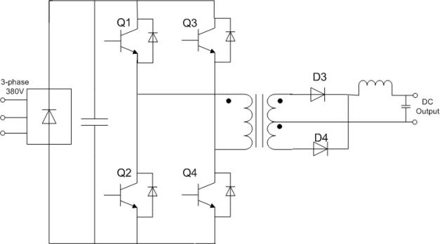 trenchstopigbt6单管设计400adc三相便携式逆变焊机