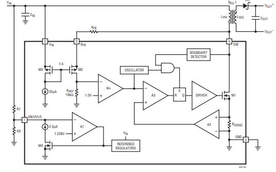 LT8301开关电源IC的数据手册详细信息免费下载