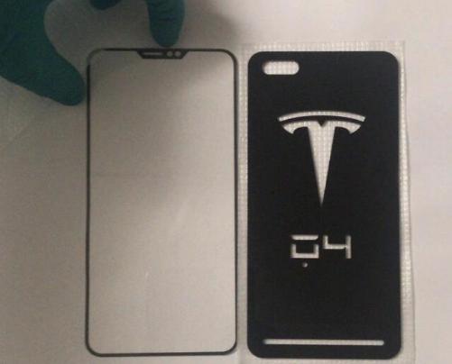 带有特斯拉logo的手机图曝光,据猜测特斯拉或推...