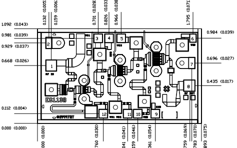 TGA1073A-SCC中功率放大器的详细数据手册免费下载
