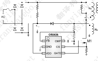 OB3636反激式控制器的详细中文数据手册详细资料免费下载