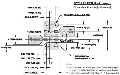 SGA3563Z高性能MMIC放大器的详细资料免费下载