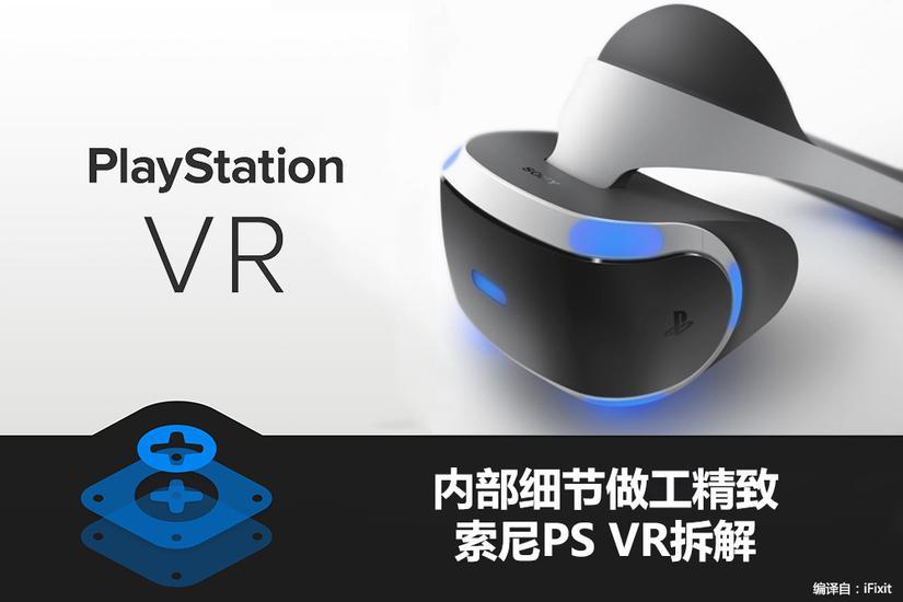 头盔里到底藏着什么秘密?索尼PS VR拆解