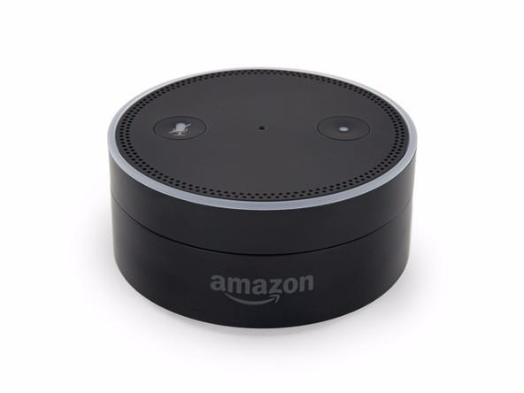Amazon Echo Dot智能蓝牙音箱拆解,这款精美外观设计的蓝牙音箱的内部长什么样
