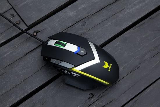 彰显旗舰级品质,雷柏V910 MMO激光游戏鼠标拆解