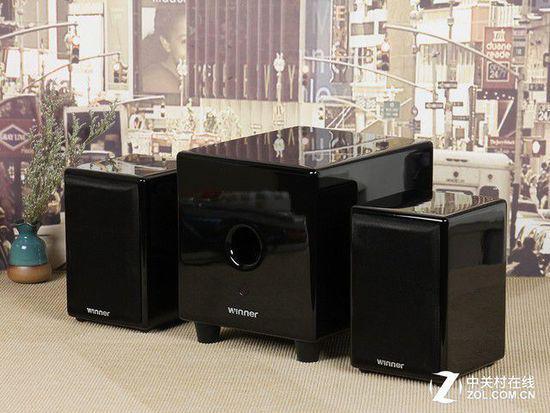 这款音箱是如何实现强大的三分频的?天逸TY-D02N多媒体2.1音箱拆解