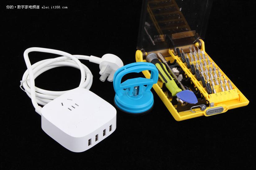 不仅好看还很好用,公牛防过充USB插座拆解