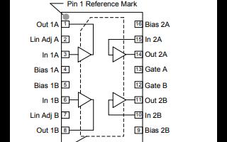 TAT8857A1H射频放大器的详细数据手册资料下载