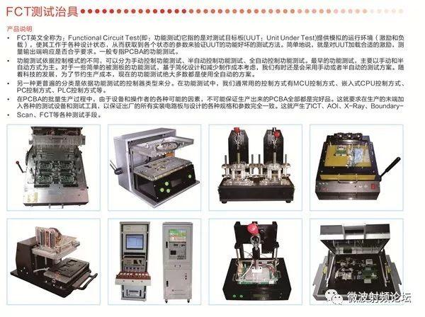 工装夹具、ICT/FCT测试治具、耦合板、屏蔽箱的作用分别是什么?