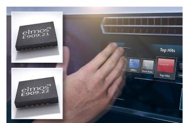 elmos推出面向汽車電子的光學接近和手勢識別解決方案
