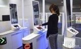 日本中部机场,使用人脸识别技术自动门,用于出入境审查