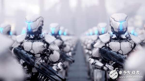 """世界人工智能专家共同签署,禁止开发致命型的杀人武器""""杀人机器人"""""""