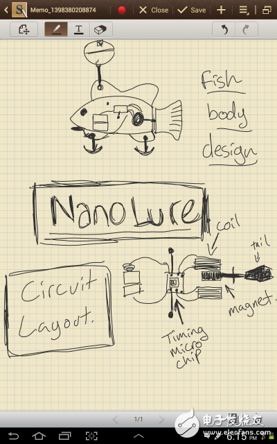 RaulChacon设计出一种仿真机器小鱼NanoLure,可诱鱼类进食上钩