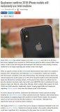 高通苹果谈不拢,新iPhone或将全线使用Intel基带