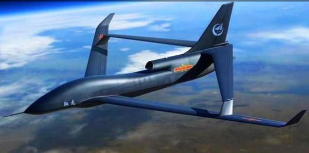 大型战略远程长航时无人机现身:菱形机翼布局,外形似全球鹰