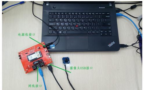 怎么使用大功率WiFi模块连接USB摄像头?演示说明