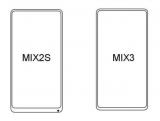 小米MIX 3设计图曝光:配备屏下指纹识别和弹出...