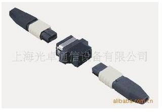 MTP-16多芯光连接器,能提供目前多芯应用中最...