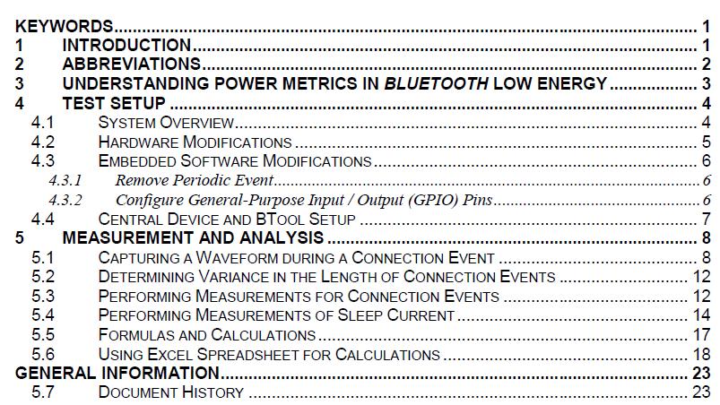 如何使用示波器和直流电源等实验室测试设备测量BLE的功耗
