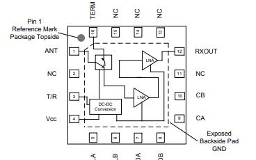 QPB9325大功率开关低噪声放大器的详细资料免费下载