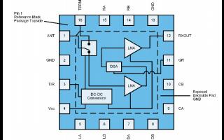 QPC9314大功率开关低噪声放大器的详细中文数据手册免费下载