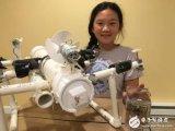 12岁女孩发明了一架机器人红外线水底汽车,有望未来解决海洋污染问题