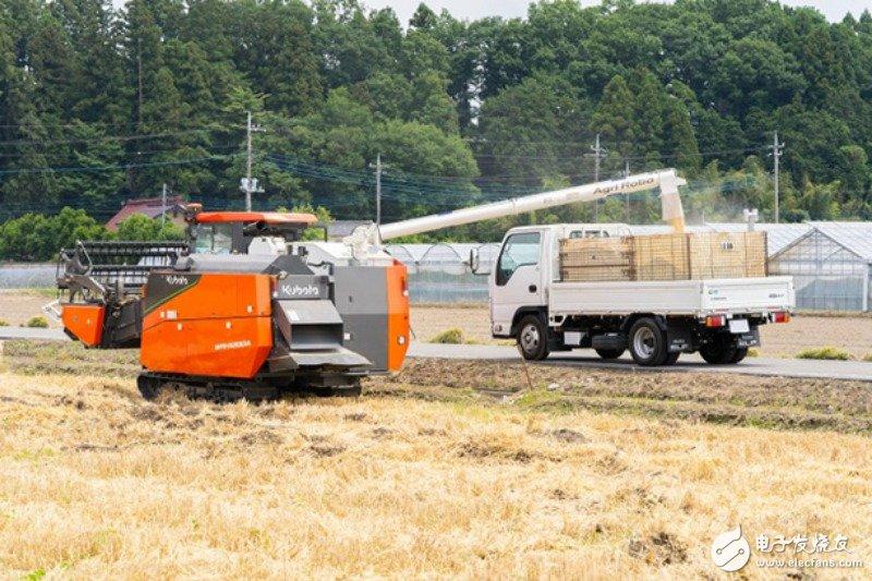 日本推出GPS自驾联合收割机,可自动化作业,极大的提升了农业效率