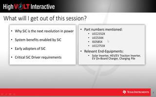 SiC MOSFET的驱动设计要求及应用