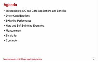 采用碳化硅和氮化镓材料器件的应用及优势介绍