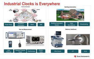 TI时钟产品的设计及在工业领域系统应用介绍(1)