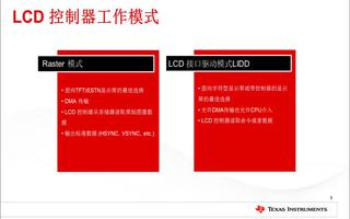 LCD控制模块特点及应用介绍