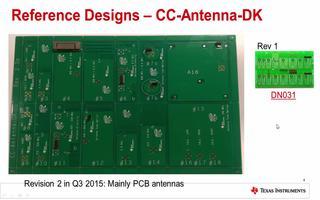 CC1310硬件射频:天线及网上资源的介绍