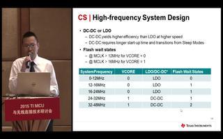 MSP430与MSP432的性能比较(2)