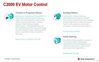 TI嵌入式产品研讨会:C2000™新能源车解决方案介绍
