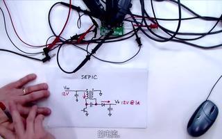 演示SEPIC转换器的工作过程