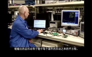如何测量时钟扇出缓冲器的残余噪声?