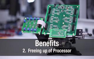 PRU-ICSS如何在处理器与多个ADC之间进行连接?