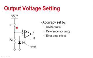 如何稳压器的输出电压精度?