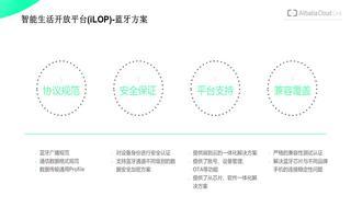 基于CC2640R2F和阿里云平台iLOP的特点介绍