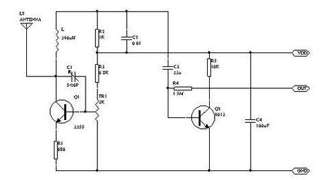 高频电路原理,各电路作用介绍