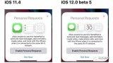 在iOS 12的第五个测试版中,HomePod的...