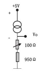 简单的温度传感器ad590测温电路原理分析