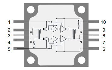 TGA2595-CP功率放大器的詳細數據手冊資料免費下載