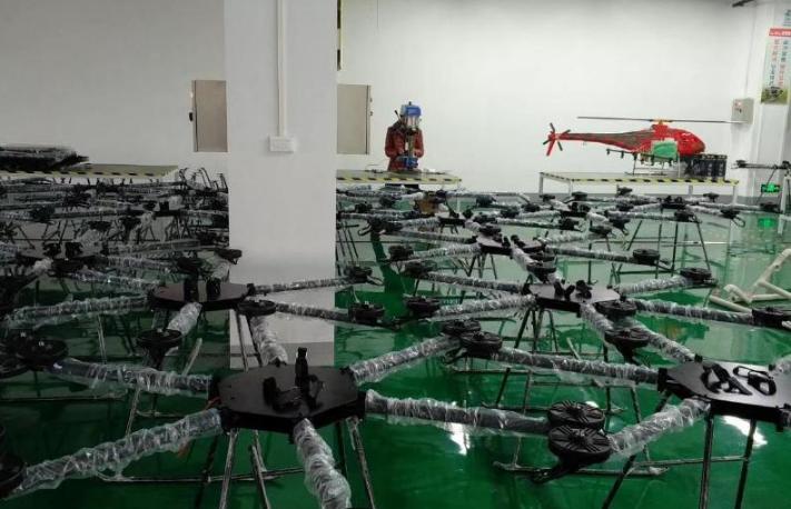 莱盛隆植保无人机进军新疆,迈出了植保无人机在农业生产应用的坚实一步