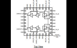 QPB9328双通道开关低噪声放大器的详细数据手册免费下载