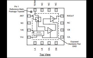 QPB9324大功率开关低噪声放大器模块的详细资料免费下载