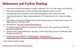 反激式变压器的概念及特点应用介绍