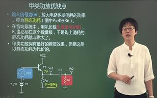 甲类功率放大电路的概念及特点介绍